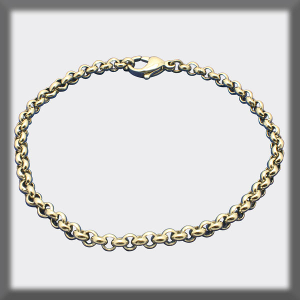 BRACELET IN STAINLESS STEEL 4mm