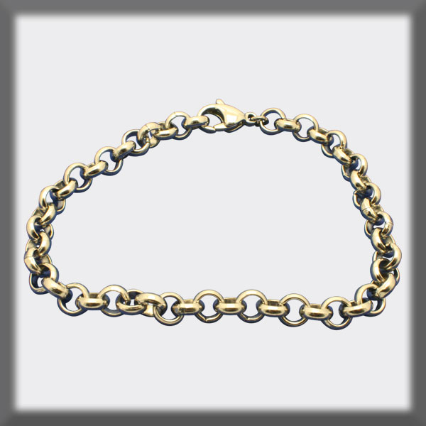 BRACELET IN STAINLESS STEEL 6mm